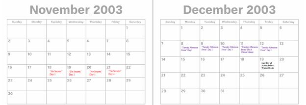 2003 - Nov. & Dec.