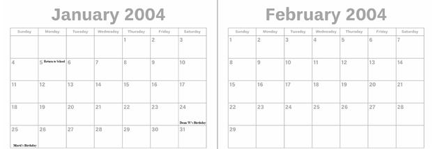 2004 - Jan. & Feb.