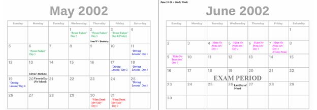 2002 - May & June