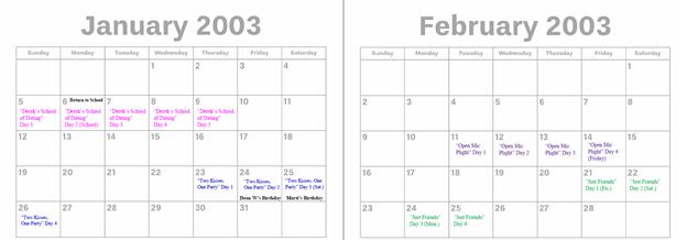 2003 - Jan. & Feb.
